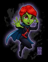 Young Justice Invasion- Ms. Martian by lordmesa