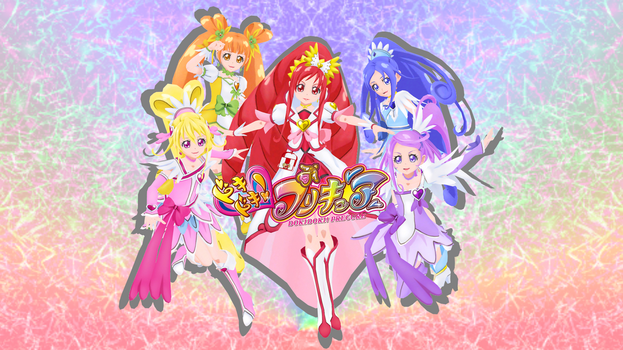 Doki Doki Pretty cure! + Poses DL by Doremi391