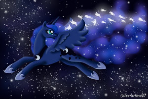 Luna's butterflies, the children of the night by Silverarrow87