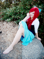 The Little Mermaid cosplay by kanamecosplay