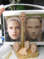 Original Sculpt of Bella Swan, WIP by my-immortals
