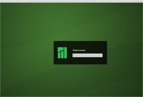Manjaro Green SLiM Theme by Culinax