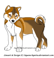Shiba-pup-for-Keiryuwhitewolf by Aquene-lupetta