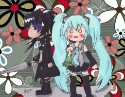 2k pageviews: BRS and Miku thank you. by woostersauce