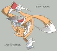 Tails Says by wagontamer