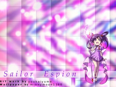 Sailor Espion wallpaper. by minnymoon1360