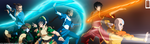 Team Avatar Aang Legend Of Korra by IITheYahikoDarkII