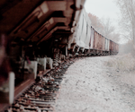 derelict train - Hillsdale by oldgeek