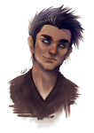 .:CadePortrait2015:. by BlissfulGold