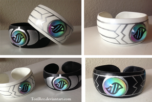 Cosplay Mega Ring and Bangles by Toriroz