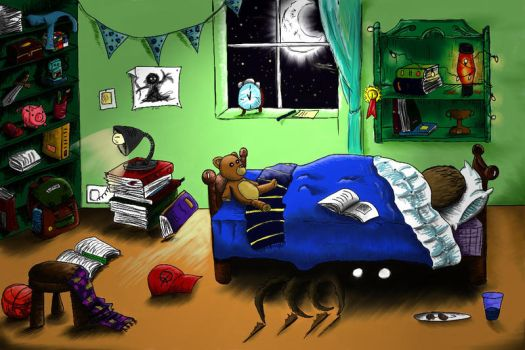 Under the bed by LinMac