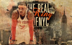 Carmelo Anthony Game Winner Knicks Wallpaper by IshaanMishra