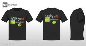 T-Shirt Simple Click Me by damylion