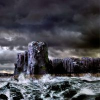 Staple Island - The Pinnacles by hold-steady