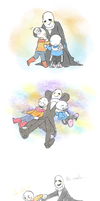 Undertale - skeletonfamily by dust4148