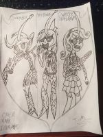 My little pony equestria girls Cutie mark invaders by TristanMendez