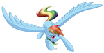 Rainbow Dash by PoniMichla
