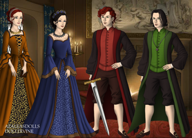 Hogwarts Founders-Young Versions by InuyashaRules6596
