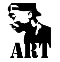 2pac stencil by ARTpulse