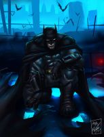 Batman:arkham city by artnerdx