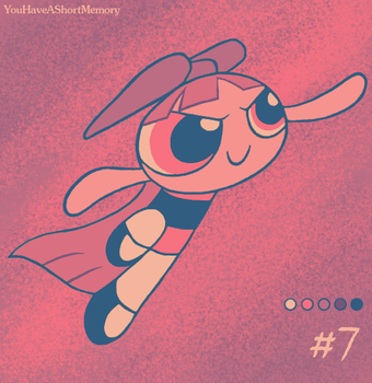 Palette Challenge #7 of 18 - Blossom by YouHaveAShortMemory