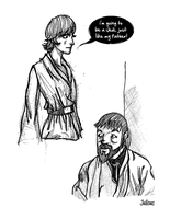 Sketch Star Wars by ViciousJulious