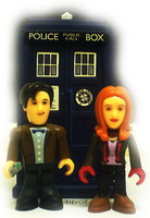 The Doctor and Amy Pond by tjevo9
