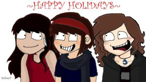 Happy Holidays Lovz by Safira-Dark