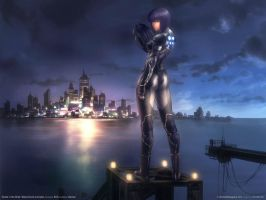 ghost in the shell by hatefulove