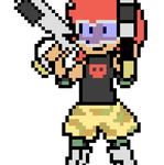 Pixelated Dude Animated by willtommo