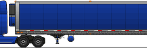 Semi Truck n Trailer by ScottaHemi