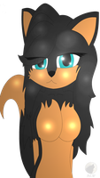 .:Request:. Ashly The Wolf by DreamEclipseWolf
