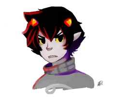 Have a Karkat for your troubles. by BrokenPencil13