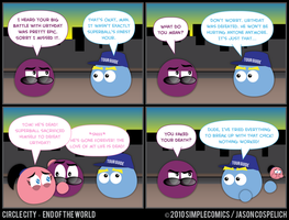 CC442 - End of the World 42 by simpleCOMICS
