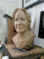 Portrait of Mohammed Hadid (wip) by FaisalAlahmad