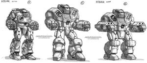 MechWarrior Fail: Kodiak by Mecha-Zone