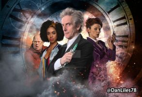 Doctor Who Series 10 Wallpaper W.I.P. by MrPacinoHead