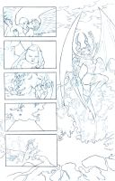 Usha Origin Story Pencils by John-Curtis-Ryan