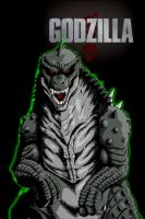 Legendary Godzilla by Jason-FH-Art