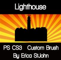Lighthouse01 PS CS3 Brush by estjohn