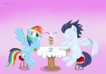 Dash and Soarin by AC-whiteraven