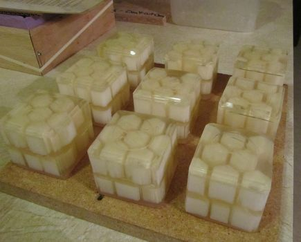 Honeycomb Soap by tinkerheck