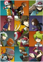 Pokemon Heroes by Ry-Spirit