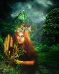 Muse of the emerald forest by designdiva3