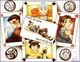 ATLA: Cards by SioUte