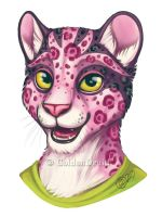 Abaete Portrait Commission by GoldenDruid