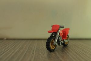 Lego Dirt Bike by Fr0zenArt