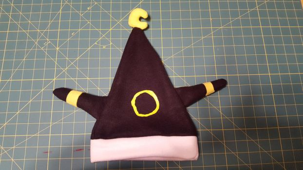 Umbreon Cosplay Santa Hat by KittyNocturna