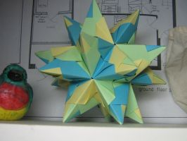 modular spiky star by Melsaran