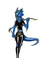 Dragon Warrior Lady by Ragnarokdragon